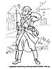 Раскраски на тему Воины, рыцари, солдаты. Раскраска__113