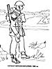 Раскраски на тему Воины, рыцари, солдаты. Раскраска__114
