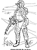 Раскраски на тему Воины, рыцари, солдаты. Раскраска__121