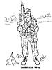 Раскраски на тему Воины, рыцари, солдаты. Раскраска__123