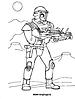 Раскраски на тему Воины, рыцари, солдаты. Раскраска__129